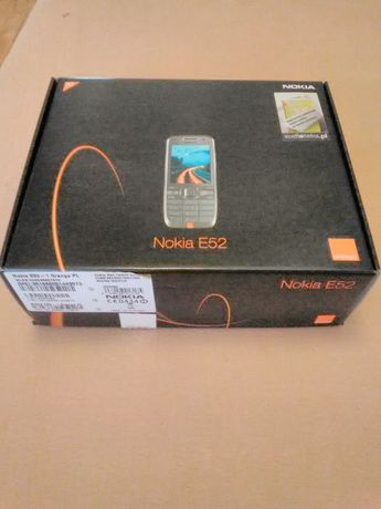 Nokia E52 nowa w zestawie navi