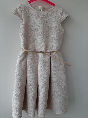 Нарядное платье 140р.