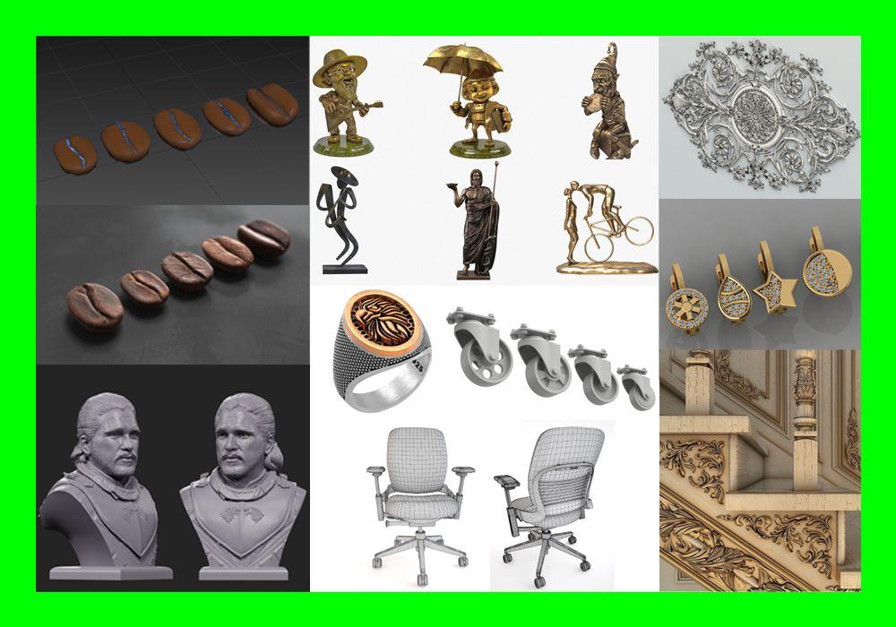 Projektowanie, Modelowanie 3D dla CNC,Druku(Prototypy, makiety,części)