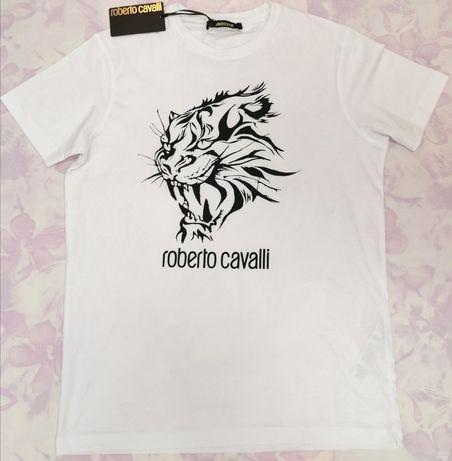 Koszulka męska oryginalna Roberto Cavalli rozmiar XL