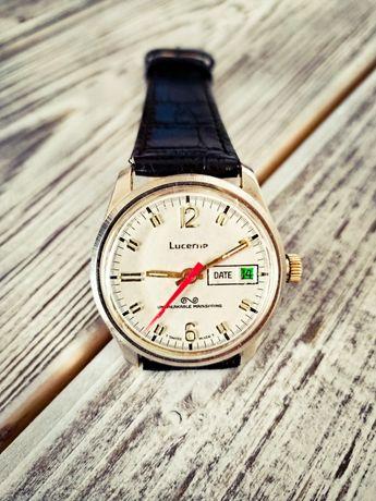 Szwajcarski zegarek mechaniczny Lucerne Vintage
