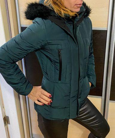 Пуховик - куртка Zara S