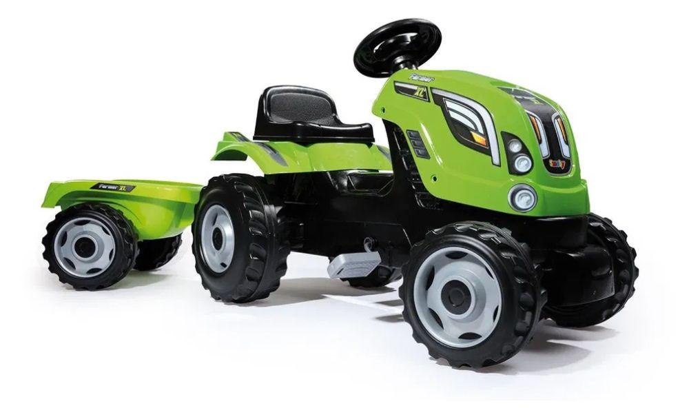 SMOBY Traktor Farmer XL z przyczepą Warszawa - image 1