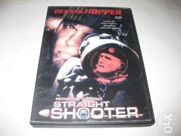 """DVD Filme """"Straight Shooter"""" com Dennis Hopper"""