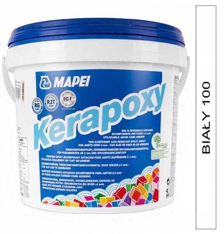 Fuga epoksydowa Mapei Kerapoxy 100 biała 5 kg