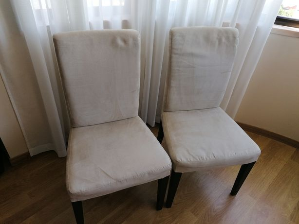 Cadeiras bejes IKEA