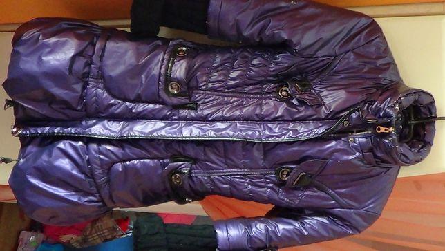Пуховик зимова тепла куртка пальто