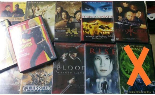 Dvd de artes marciais e acção, Van damme, Jet Li.