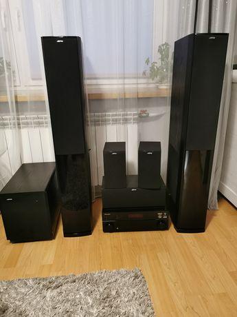 Zestaw kina domowego dla wymagających Jamo 608 Pioneer VSX 520 Sub 250