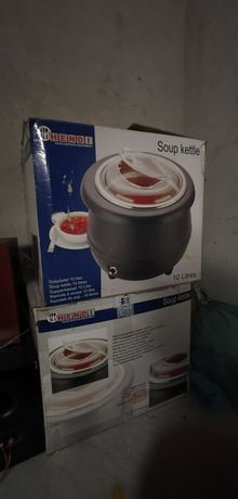 Elektryczny kocioł na zupę 2 sztuki