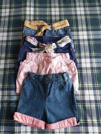Lote 4 calções - Menina (2 anos)