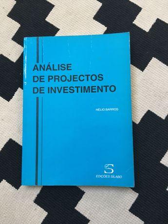 Análise de Projetos de Investimento - Hélio Barros