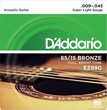 Struny do gitary akustycznej D'Addario EZ890 9-45