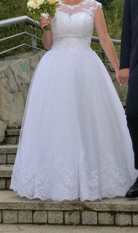 Piękna suknia ślubna + koło gratis
