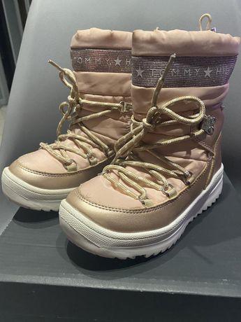 Śniegowce buty zimowe Tommy Hilfiger TH r. 31