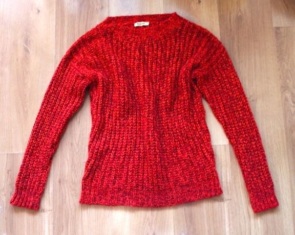 OCHNIK sweter bluzka czerwona s 36 xs monnari solar bershka mohito mk
