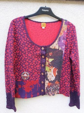 Kolorowy sweterek Rozm 42