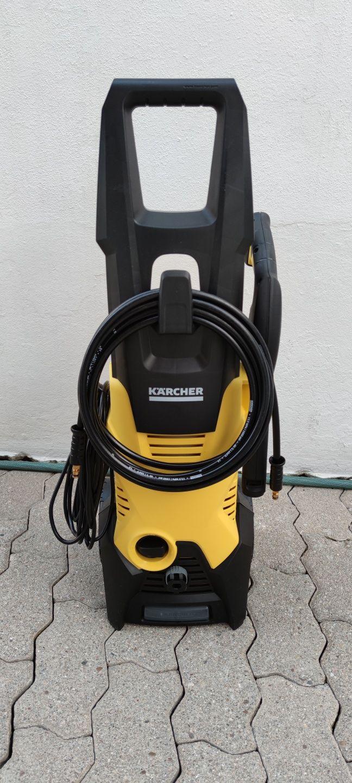 Lavadora de alta pressão - Karcher 1600w, 120bar (Nova)
