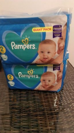 PAMPERS New Baby-dry 2 (4-8kg) pieluchy 100szt