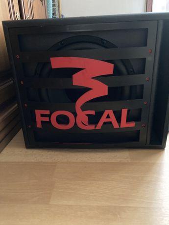 subwoofer focal e amplificador sony