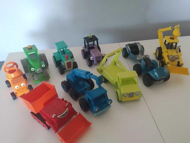 Samochody Bob Budowniczy zestaw