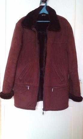 Дубленка зимняя KOLVI коричневая