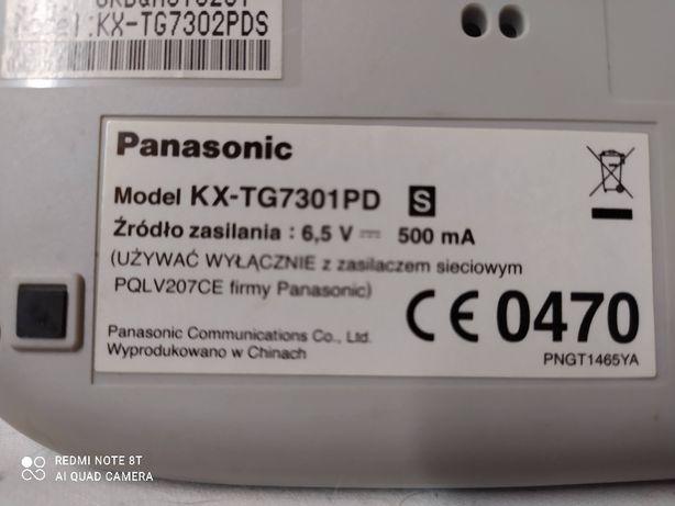 Telefon stacjonarny Panasonic KX-TG7301PD