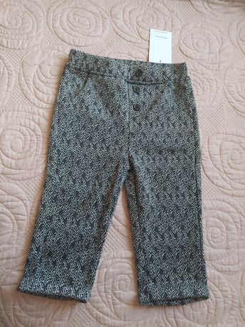 Elegnackie spodnie RESERVED, rozm. 80, NOWE