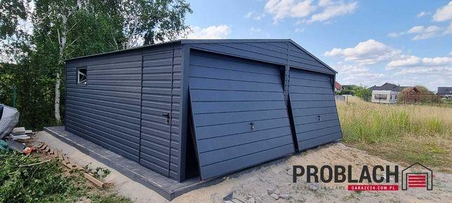 Garaż blaszany 6x5,80*PRODUCENT* inne wymiary i kolory*