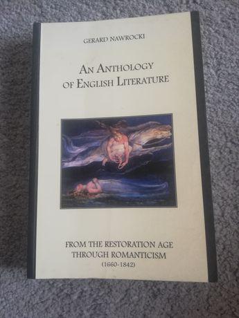 Antología angielskiej literatury (po angielsku)