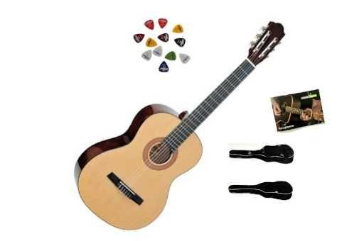 Gitara Klasyczna Ambra AC-02 1/2 + pokrowiec + Darmowa Wysyłka