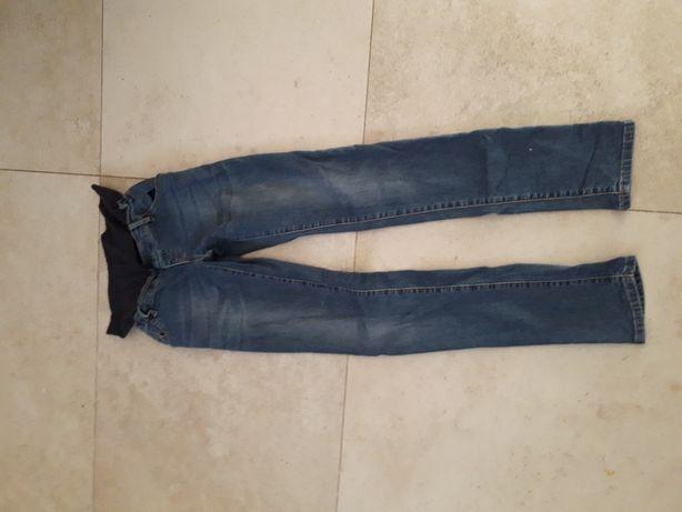 Jeansy spodnie ciazowe- rozmiar S-stan idealny