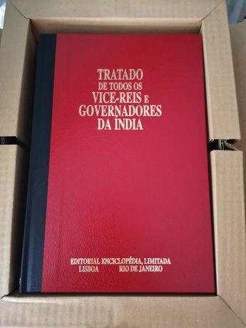 Tratado de todos os vice-reis e governadores da Índia (Envio gratuito)