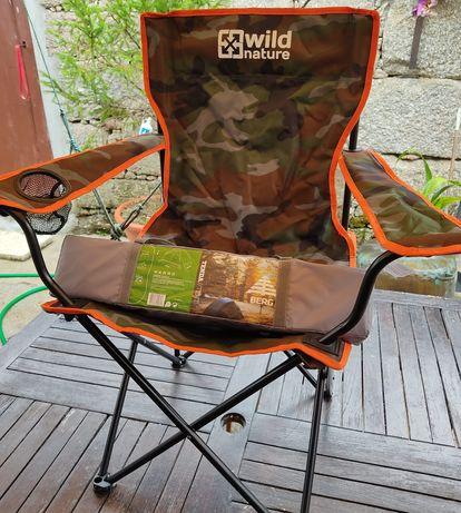 Tenda de campismo berg para 2 pessoas + cadeira dobrável