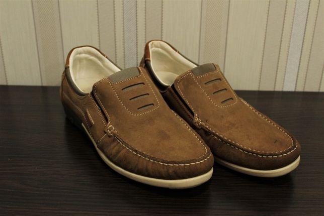 Туфлі, мокасини чоловічі коричневі