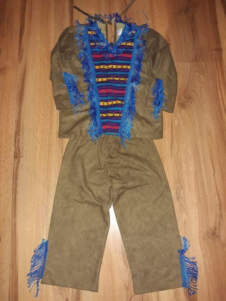 Indianin 122 116 stroj kostium bal karnawalowy halloween