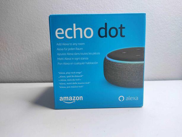 ECHO DOT 3 - Coluna inteligente com Alexa integrada - Em Portugues