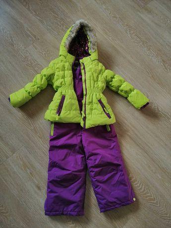 Śliczny komplet zimowy dla dziewczynki 104