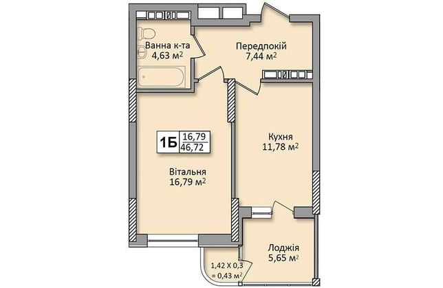 Продам видовую 1  квартиру ЖК Министерский дом 1 . С документами.