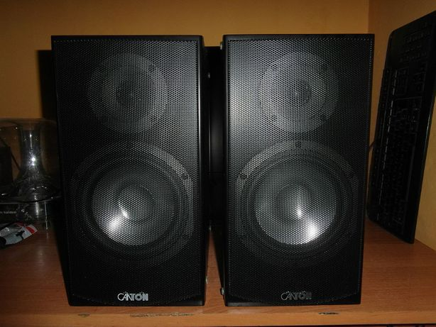 Kolumny monitory Canton GLE 430 2x90Watt Aluminiowe głośniki M Germany