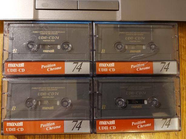 Maxell UDII-CD 74, komplet 4 szt, bdb