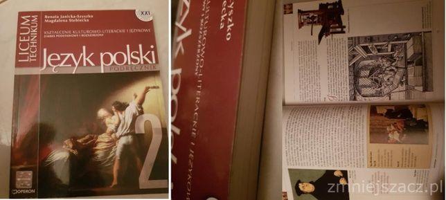 JĘZYK POLSKI 2-renesans, barok, oświecenie, Szyszko, Steblecka, książk