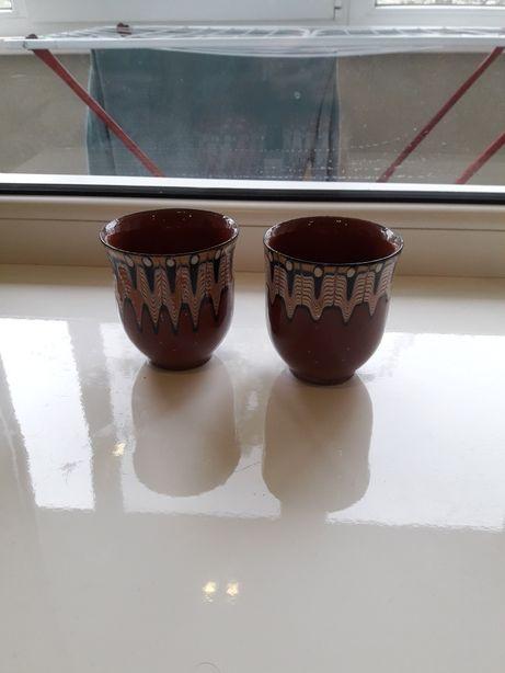 Стаканы глиняные