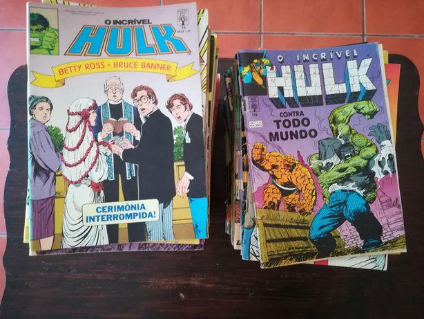102 Livros de Hulk da Abril