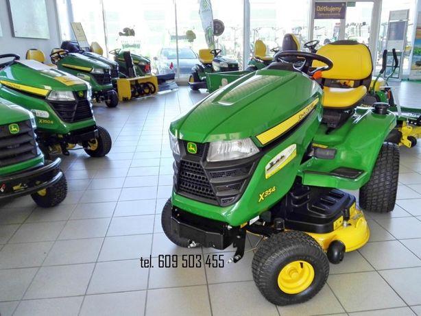 KIELCE John Deere x354 traktorek ogrodowy ciągnik ogrodniczy NOWY