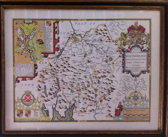 Quadros de Mapas Antigos
