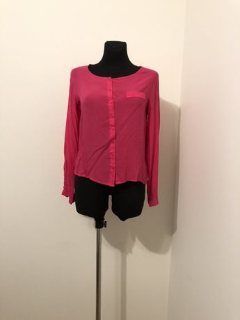 Bluzka koszula malinowa r. S Esmara