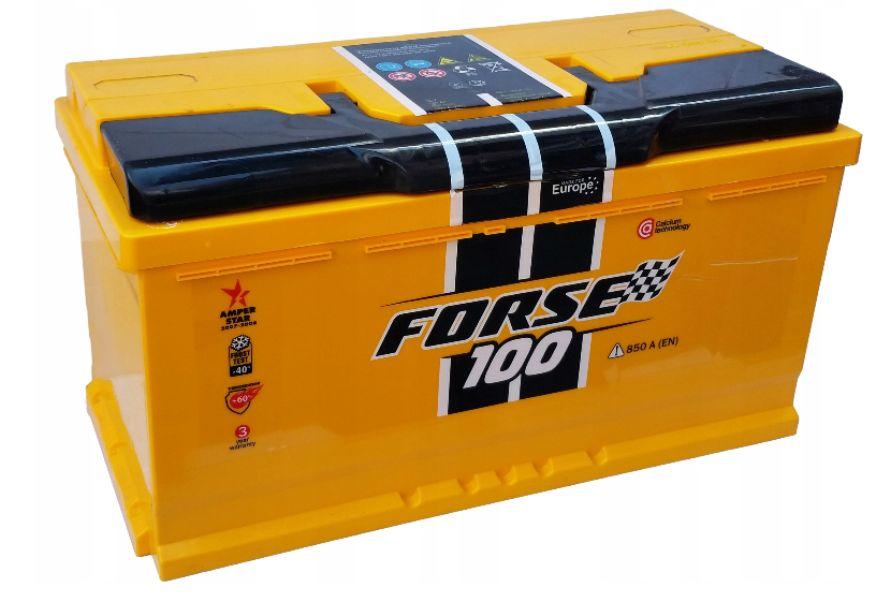 Akumulator WESTA Forse 100Ah 850A Brzeziny