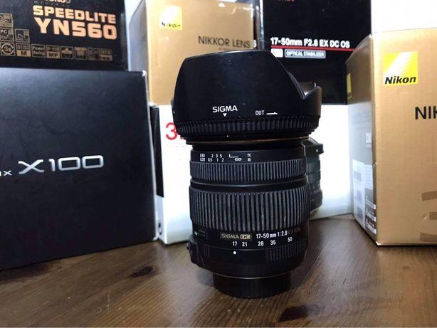 Sigma 17-50 F2.8 EX DC OS Nikon