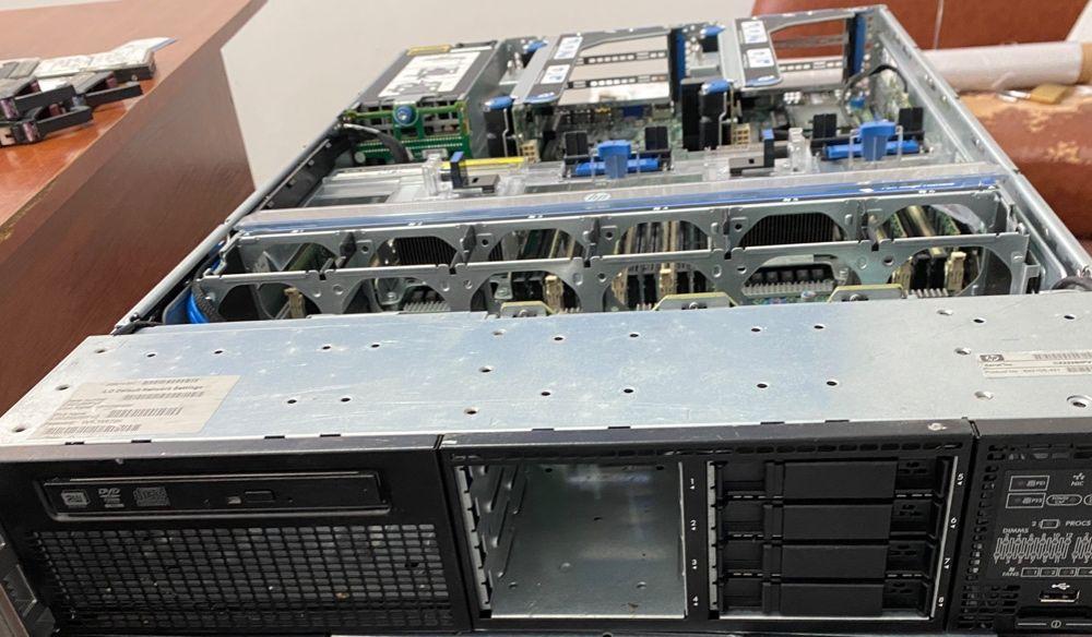 Сервер HP ProLiant DL380p G8 2x Intel Xeon E5-2665 2.40GHz 8x 2GB DDR3 Львов - изображение 1